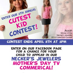 4th Annual Necker's Jewelers Cutest Kid Contest