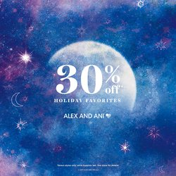 30% OFF ALEX AND ANI HOLIDAY GIFT SETS December 17-24 ONLY!