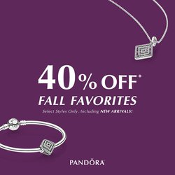40% OFF Pandora FALL FAVORITES!!