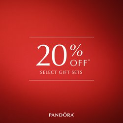 Get 20% OFF PANDORA GIFT SETS Dec 15-17 ONLY!
