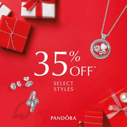 35% OFF PANDORA! (Select Styles) Dec 7-10 Only!