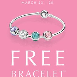 FREE Pandora Bracelet Event is here!!!