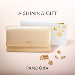 FREE Gold Clutch with $125 Pandora Purchase!