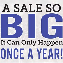 It's HALF OFF SALE time!! Friday & Saturday, November 9 & 10 Only!