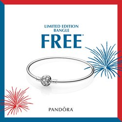 FREE Limited Edition Pandora Bangle: Memorial Day Weekend ONLY!