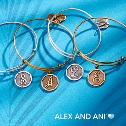 25% OFF ALEX AND ANI INITIALS: March 29th - April 5th ONLY!