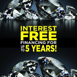 2 DAYS ONLY: 5 Year INTEREST FREE Financing!