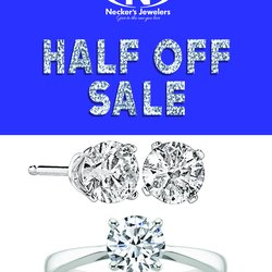 The BIGGEST SALE Of The Year! THE HALF OFF SALE!